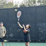 Bulldogs back on the court, working to defend team tennis title