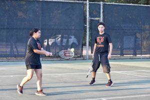 Photo gallery: North Dallas tennis team vs. Carter  —  09-12-2019