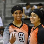 Fun moments on the court for the North Dallas girls volleyball team