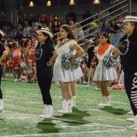 North Dallas alumni Vikingettes join current Vikingettes for high kickin' performance