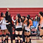 After winning first set, North Dallas keeps battling in volleyball action