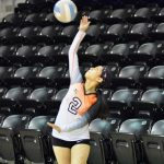 Lady Bulldogs keep volleyball playoff hopes alive with 3-0 victory