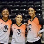 North Dallas volleyball team recognizes the seniors, takes aim at playoff spot