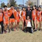 Watch: North Dallas celebrates the medals, team trophy after district meet