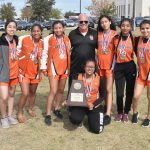 North Dallas girls varsity team and David Soto head to regionals