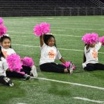 North Dallas' Vikingettes get some help from the Littlenettes: 'We can only get better from here'