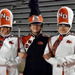 Looking back:  Celebrating 2019 Senior Night with North Dallas Marching Band