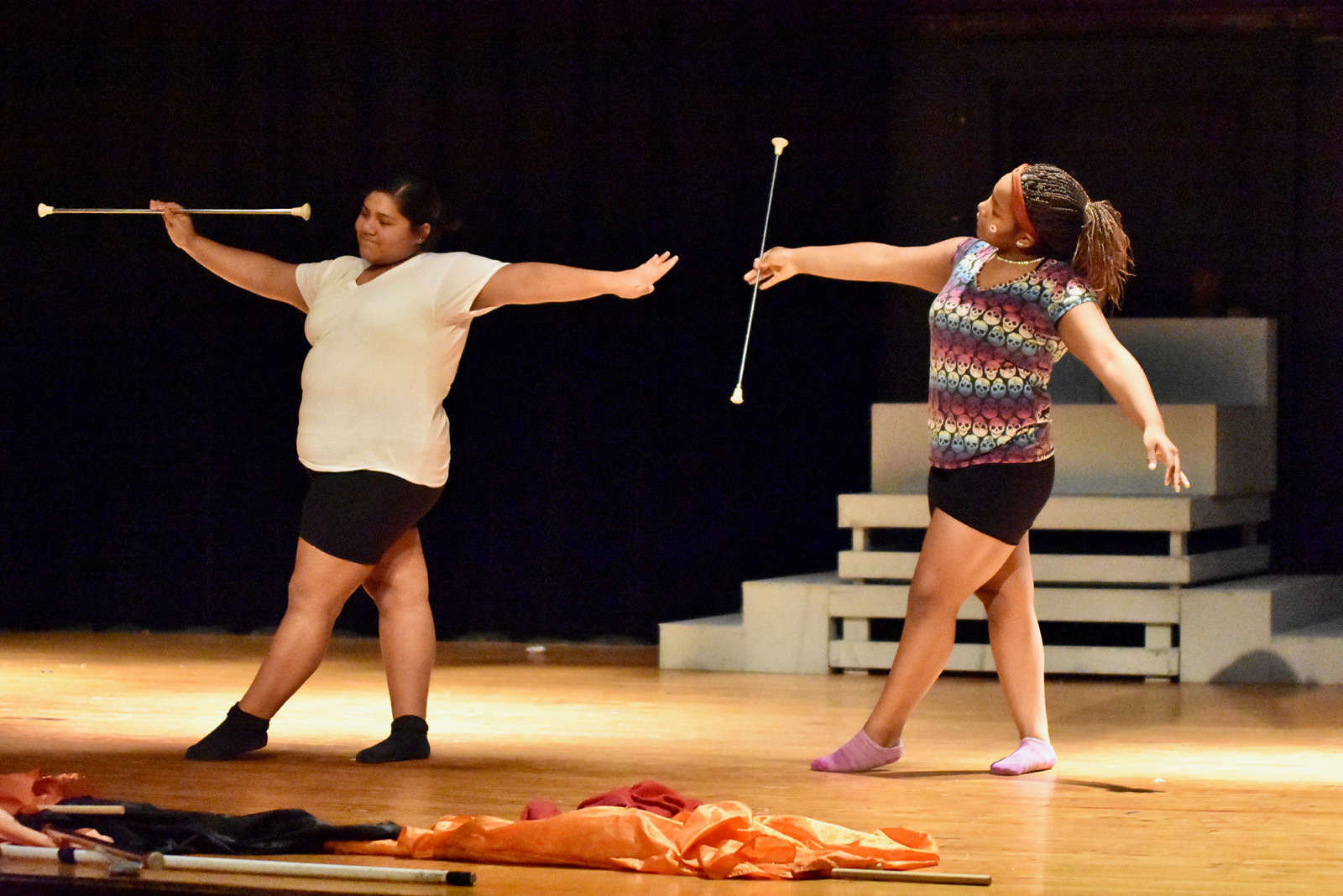 North Dallas' Orange & Ebony: Flag & Twirlers to perform at Winter Wonderland