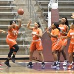 North Dallas'  junior varsity girls battle back but fall short