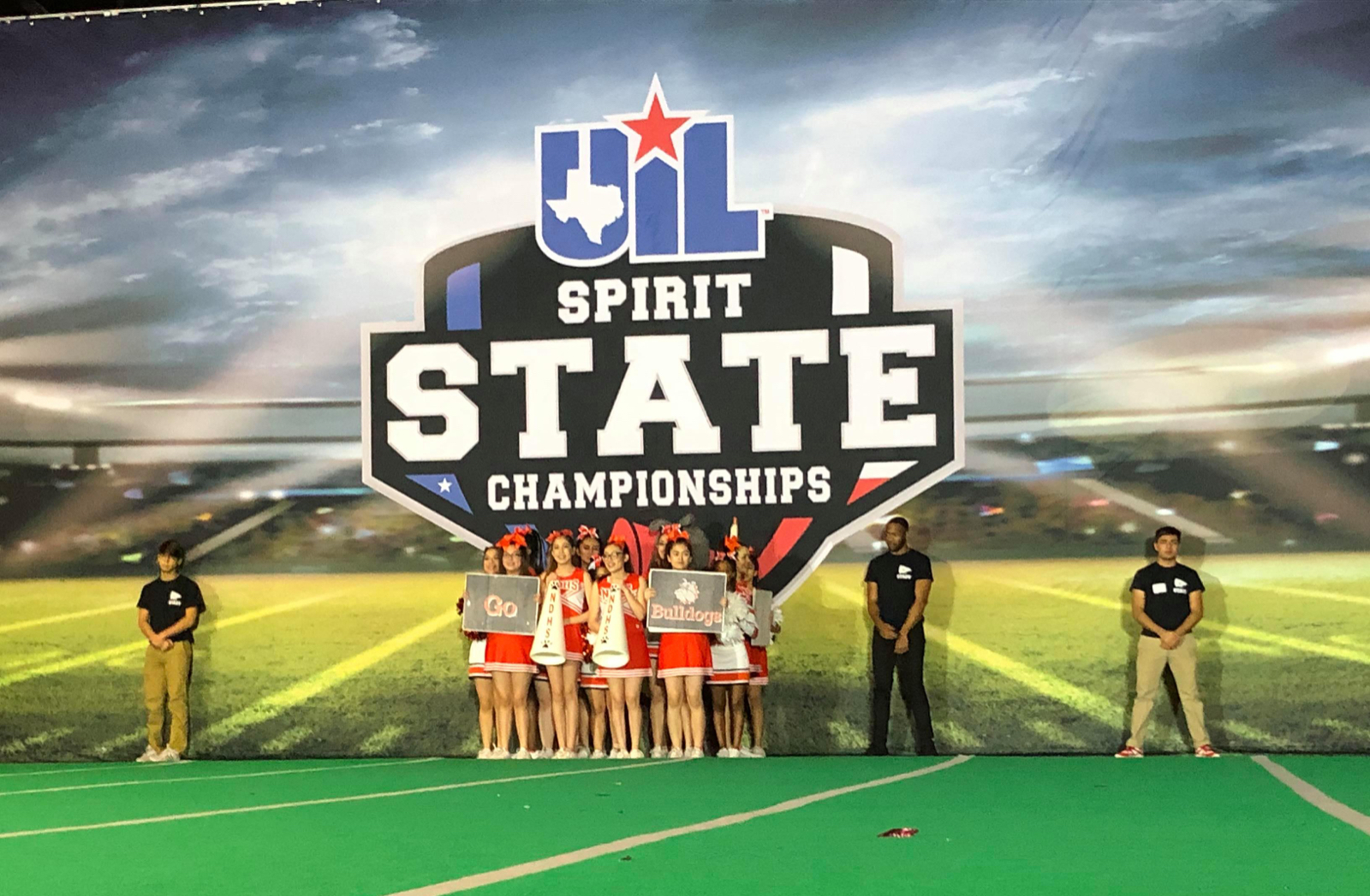 North Dallas cheerleaders compete at Spirit State Championships