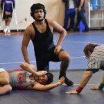 North Dallas wrestlers, Nicolas Andrade and Damien Lopez, are heading to regionals