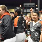 Photo gallery: North Dallas Lady Bulldogs softball team vs. Samuell — 2-18-2020
