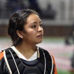 North Dallas senior Yomara Gutierrez reflects on softball season:  'It was us at the top this year.'