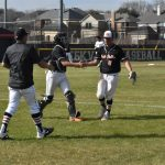 Xavien Shay throws a three-hitter, and the Bulldogs get 'timely hits' in 6-1 win
