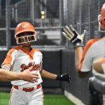 Lady Bulldogs open district play with 3 home runs in 13-1 victory