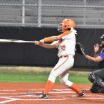 North Dallas senior Denise Rayas plays softball, performs with the band