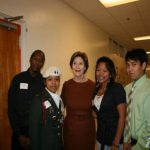 Remember when … former first lady Laura Bush visited North Dallas in 2010