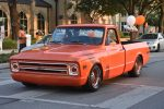 Paint the North Dallas senior parade orange — and one pickup did just that
