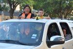 North Dallas Class of 2020 seniors celebrate, have fun in parade around the school