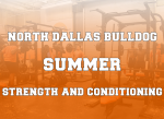 North Dallas prepares for summer workouts — Zoom parent meeting at 6:30 p.m. tonight