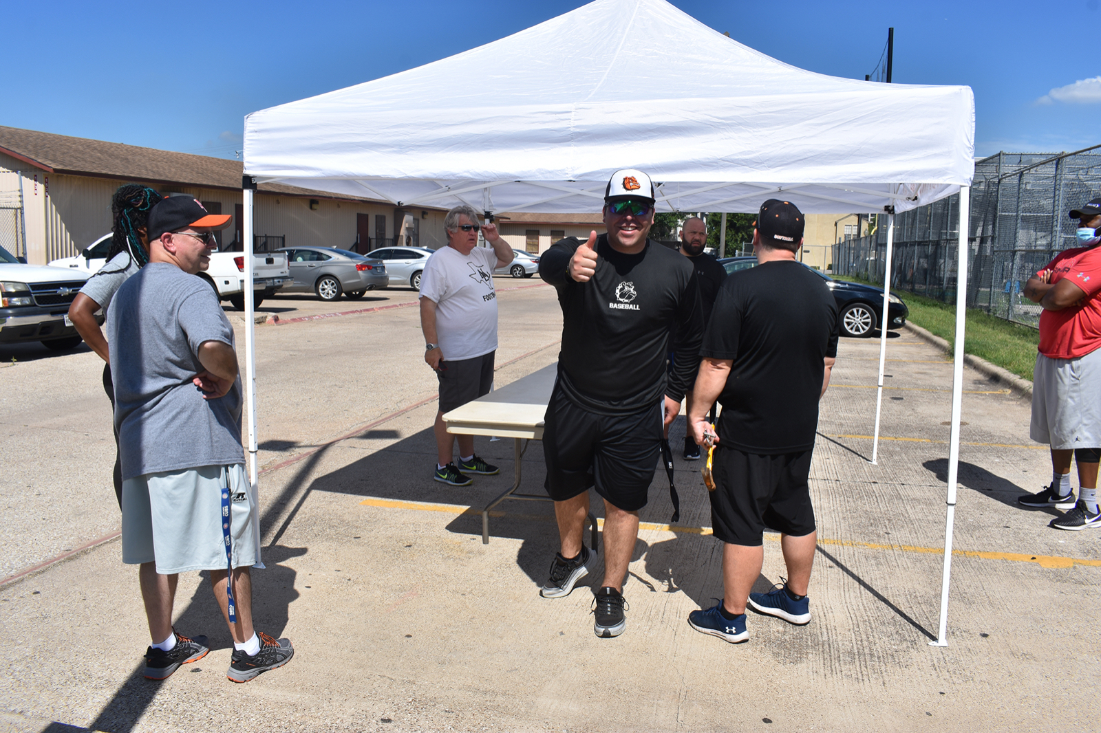Photo gallery: North Dallas coaches preparing for summer program — 6-8-2020