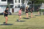 Girl power: North Dallas athletes going through the drills