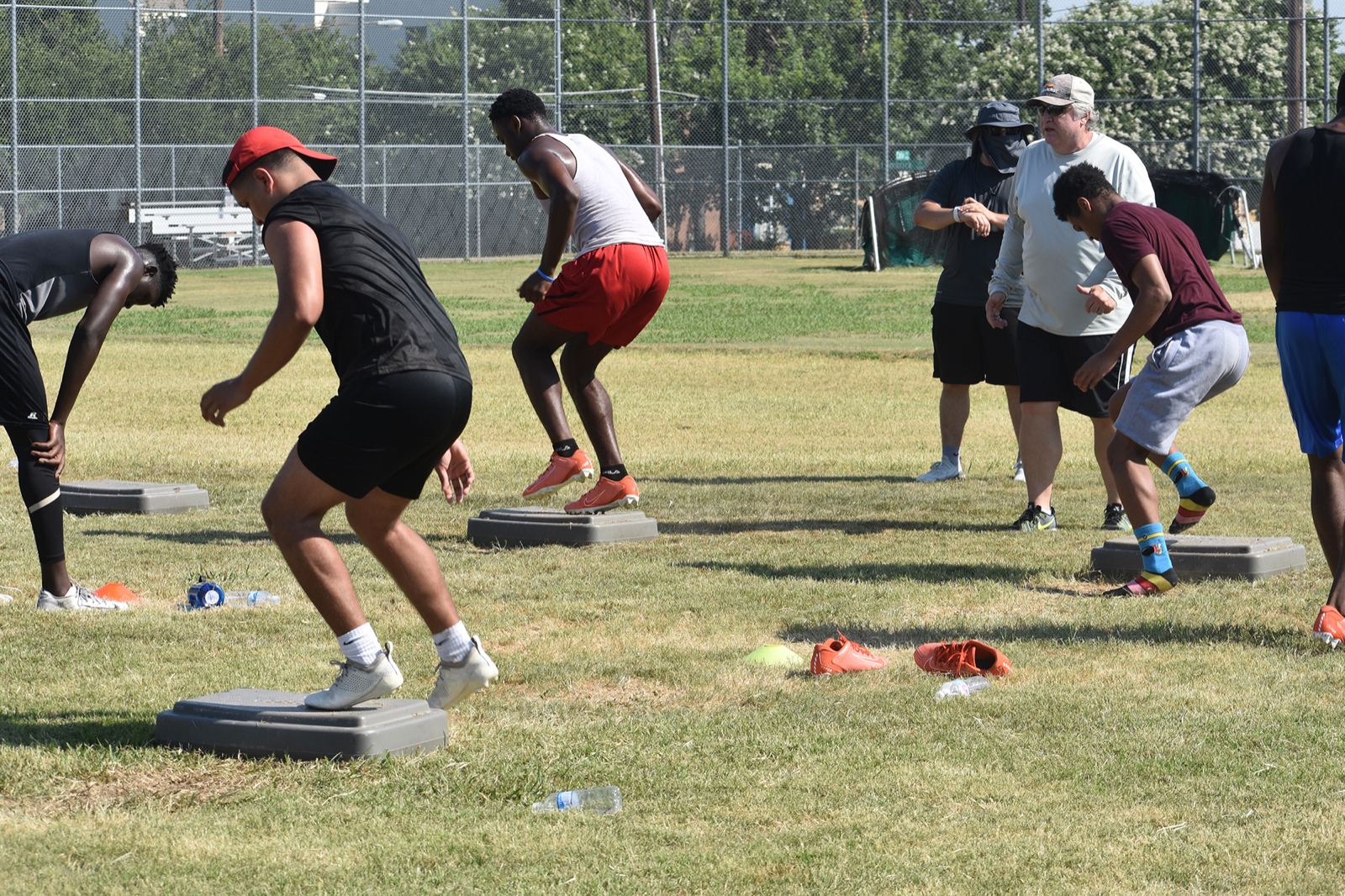 Summer workouts on hold, but North Dallas Coach Bobby Estes is pleased with progress so far