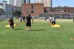Watch: North Dallas athletes hustle over — and around — the bags
