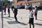 Watch: North Dallas athletes follow the dots in summer conditioning