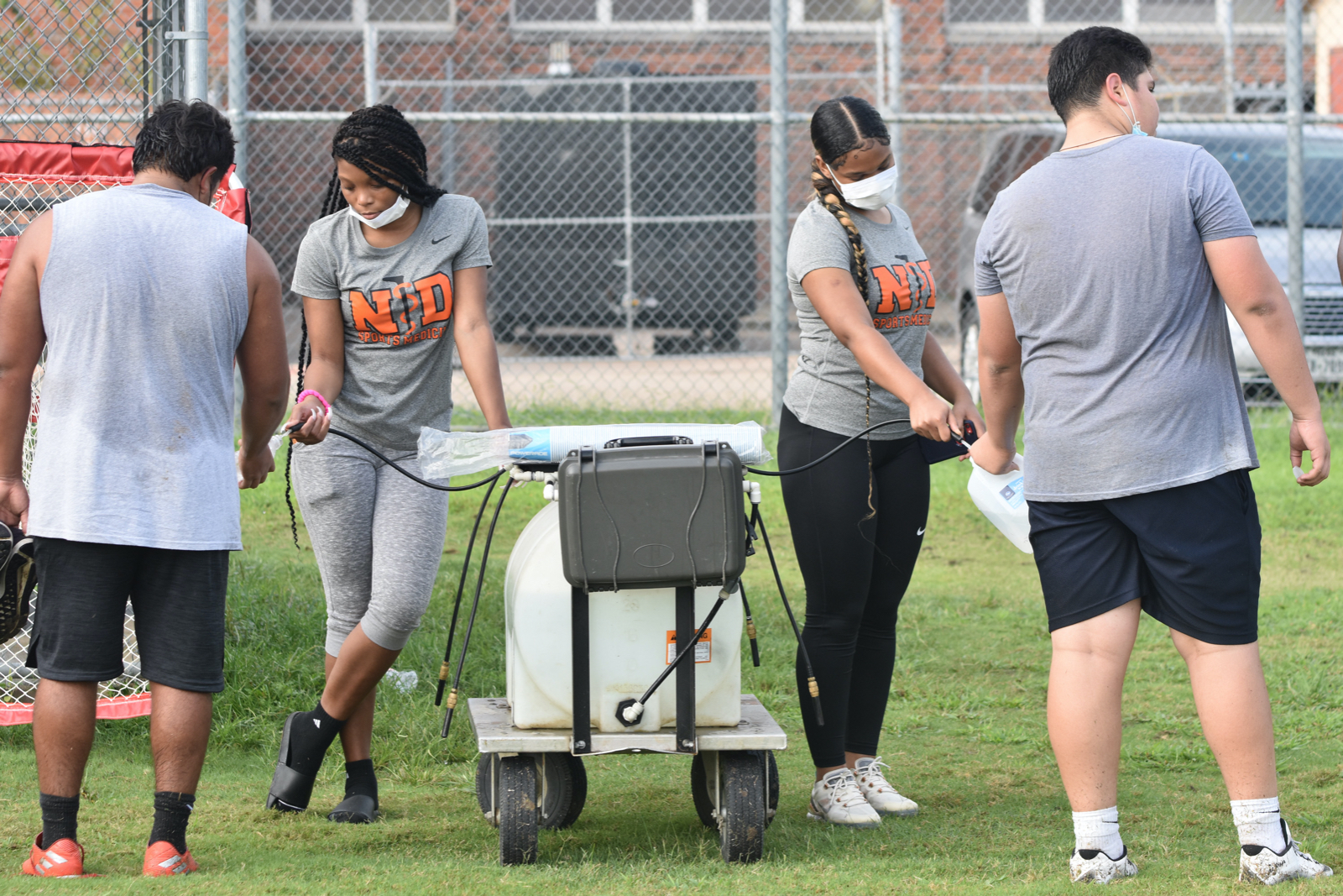 Photo gallery: North Dallas fall football conditioning — Sept. 8, 2020