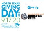 Support the ND Booster Club — Please donate on Thursday on North Texas Giving Day