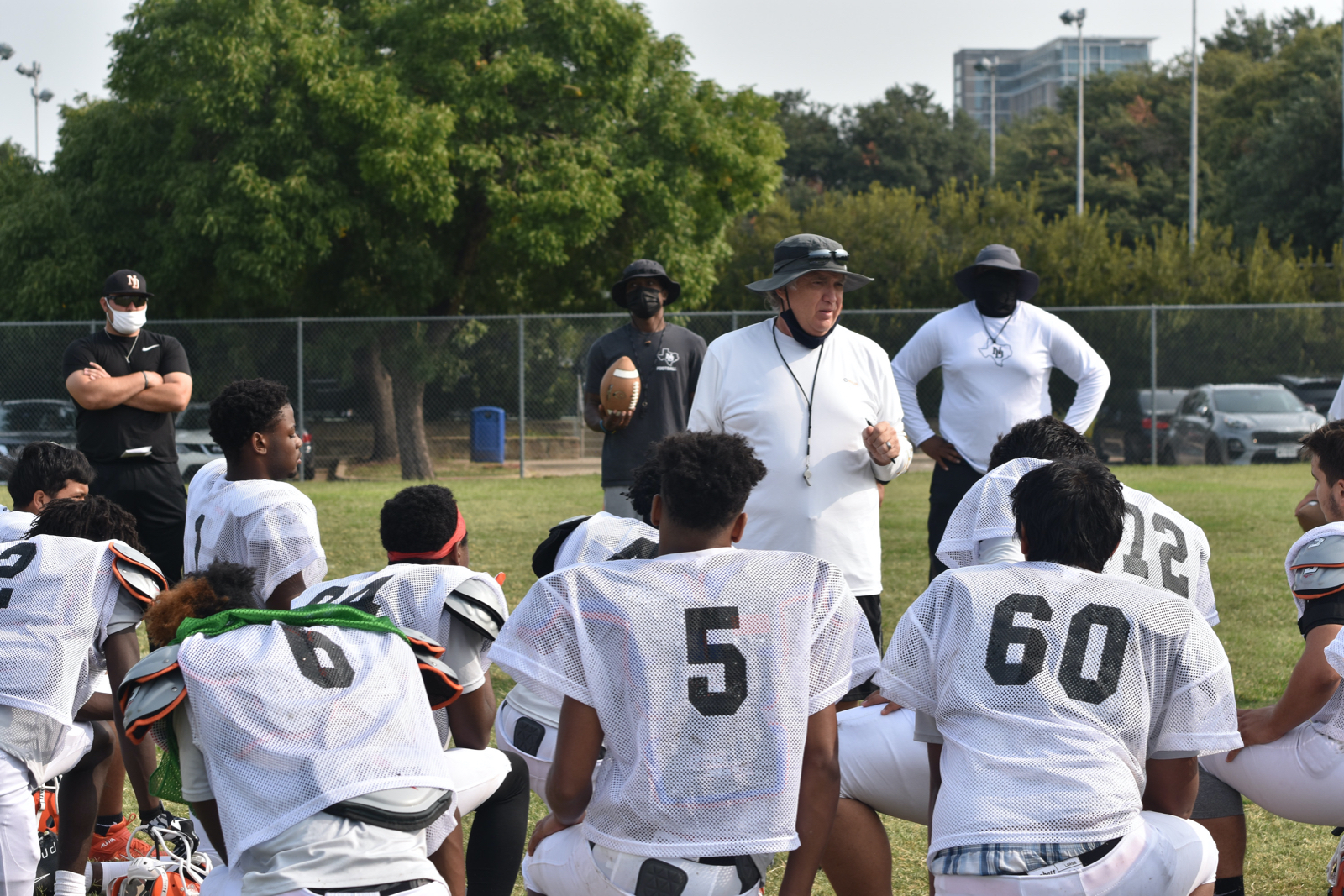 Photo gallery: North Dallas Bulldogs work out in pads — Sept. 19, 2020