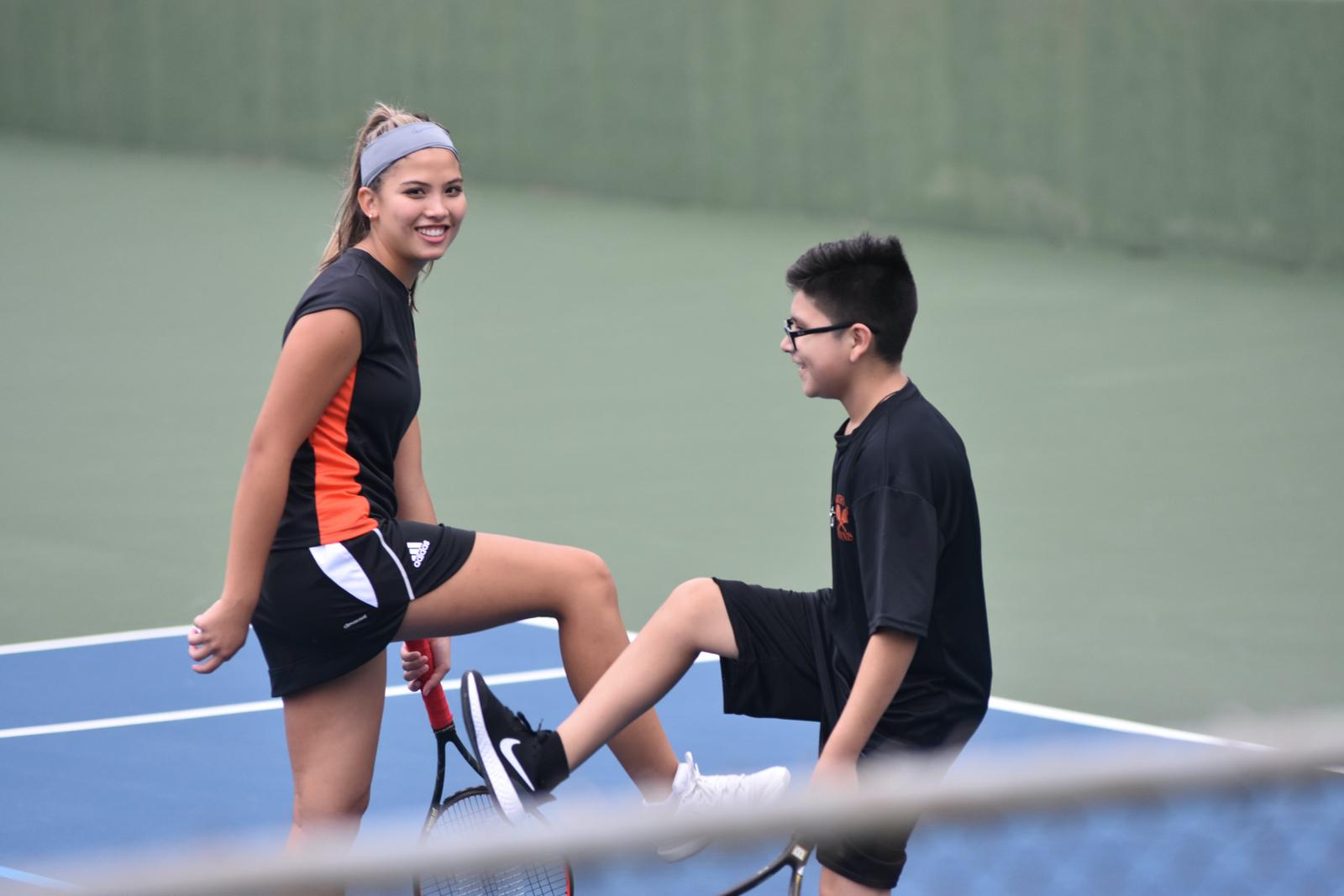 Photo gallery: North Dallas team tennis vs. Roosevelt — Sept. 23, 2020