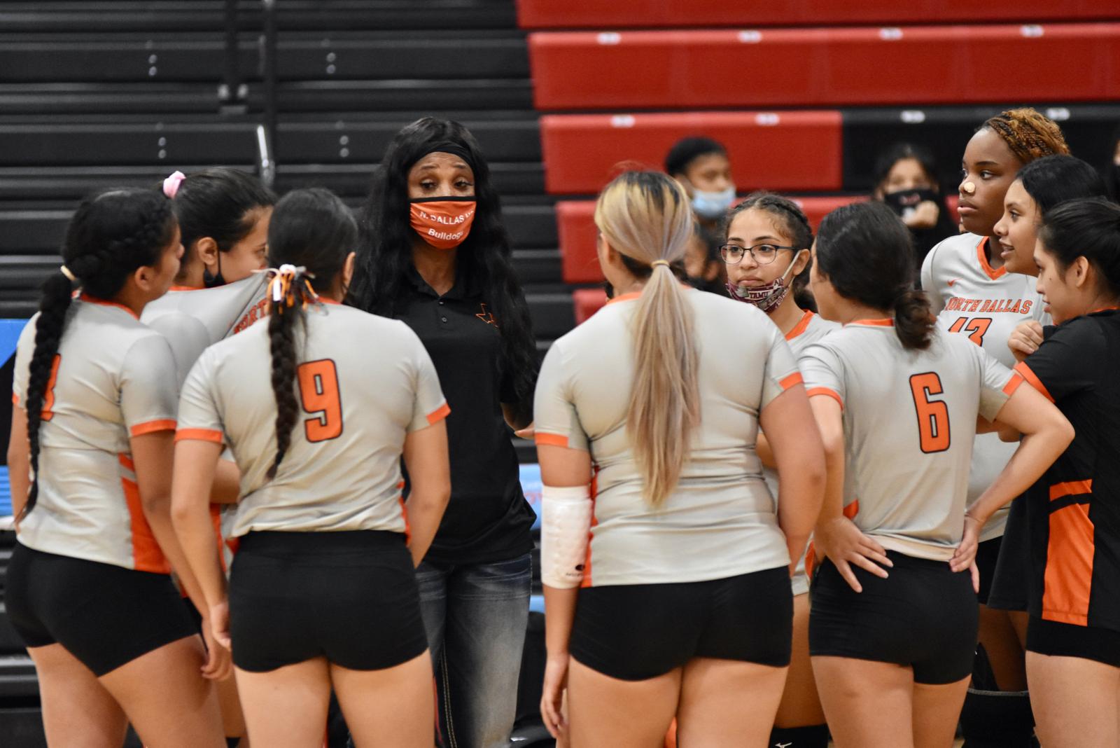 Photo gallery: North Dallas girls volleyball team vs. Carter — Sept. 25, 2020