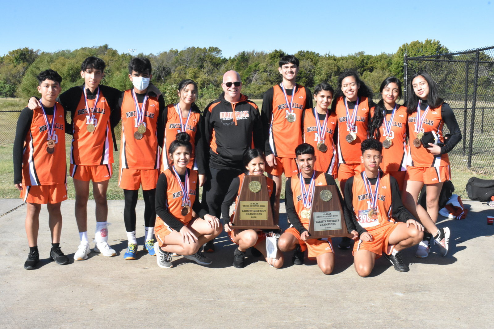Photo gallery: North Dallas cross country teams at District 12-4A meet — The awards — Oct. 30, 2020