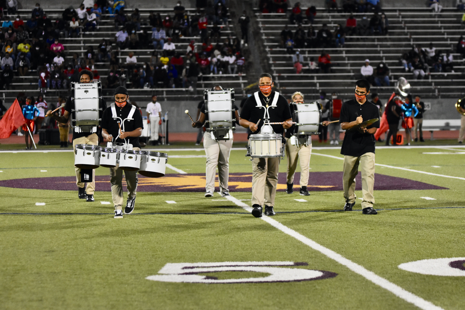 Photo gallery: North Dallas marching band vs. Carter game — Oct. 9, 2020