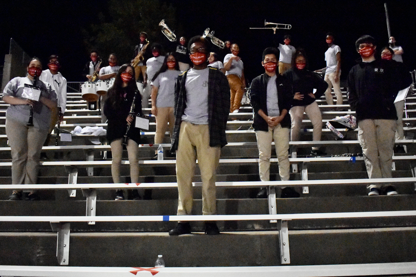 Photo gallery: North Dallas marching band at Lincoln game — Nov. 6, 2020