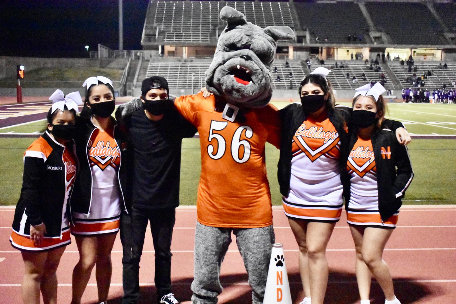 Photo gallery: North Dallas cheerleaders at Lincoln game — Nov. 6, 2020