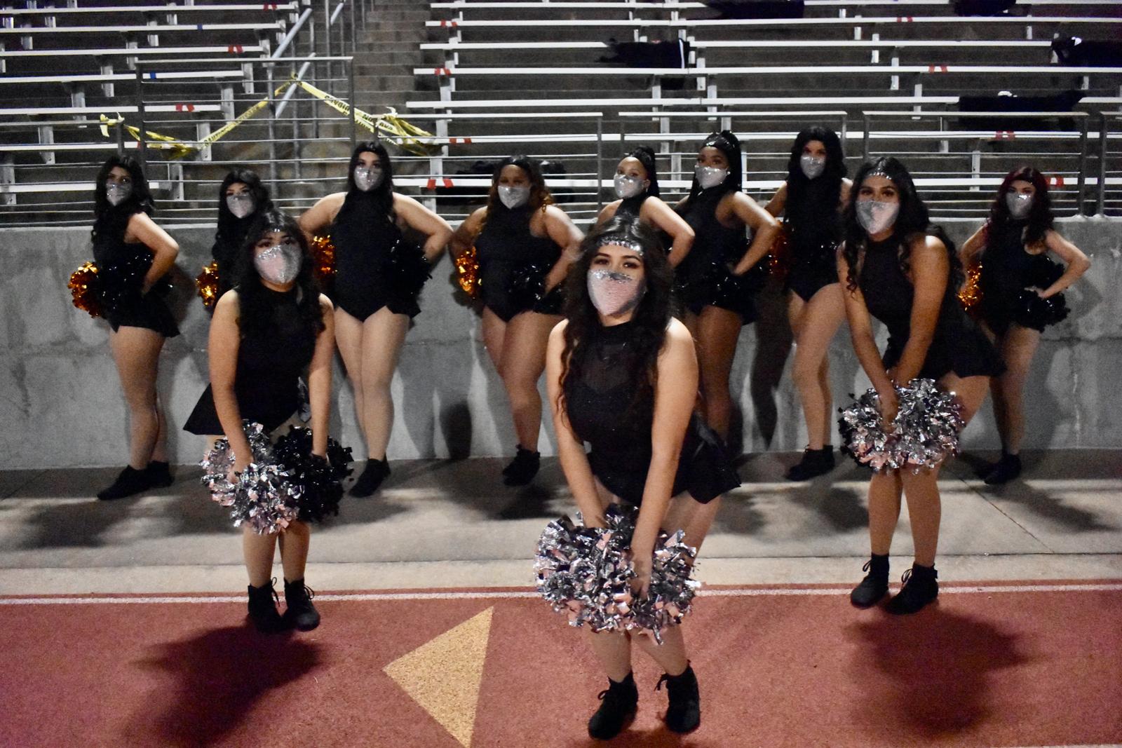 Photo gallery: North Dallas Vikingettes and  Ebony & Orange Auxiliary twirlers — Nov. 6, 2020