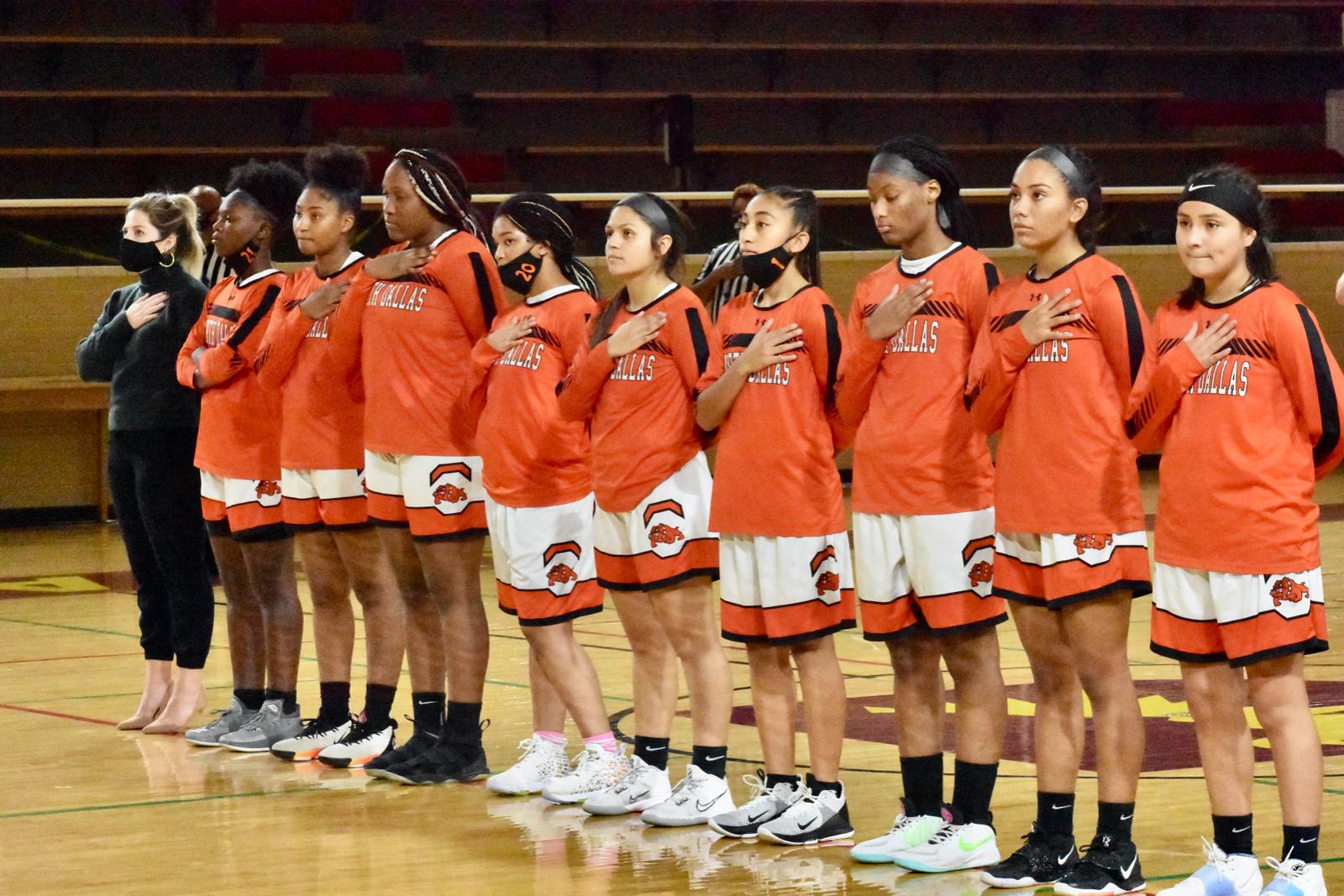 Photo gallery: North Dallas girls varsity basketball team vs. Seagoville — Nov. 18, 2020