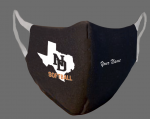 North Dallas softball fundraiser: Get your own double-sided personalized North Dallas face mask