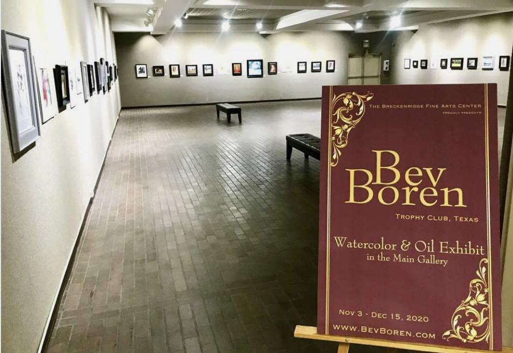 Breckenridge art exhibit features work by North Dallas alum and artist Beverly Boren
