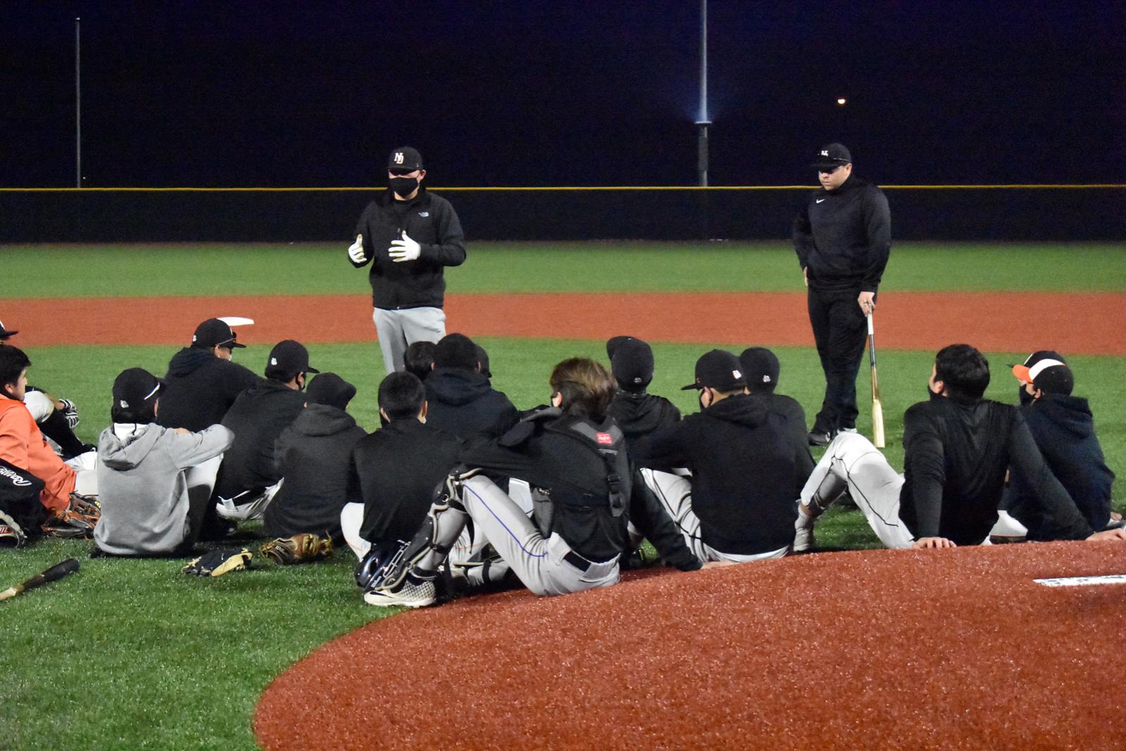 Photo gallery: North Dallas baseball team practice — Jan. 28, 2021