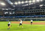 North Dallas baseball team and Frank Miller visit Globe Life Park: 'This was a great experience that we will never forget'