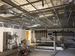 North Dallas renovation project: Installing the new air conditioning unit