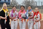 Lady Bulldogs recognize their seniors before Friday's game