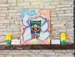 Students' artwork featured at West Village Starbucks