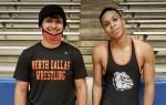 North Dallas' 'Fantastic Four' wrestlers competing at weekly meets