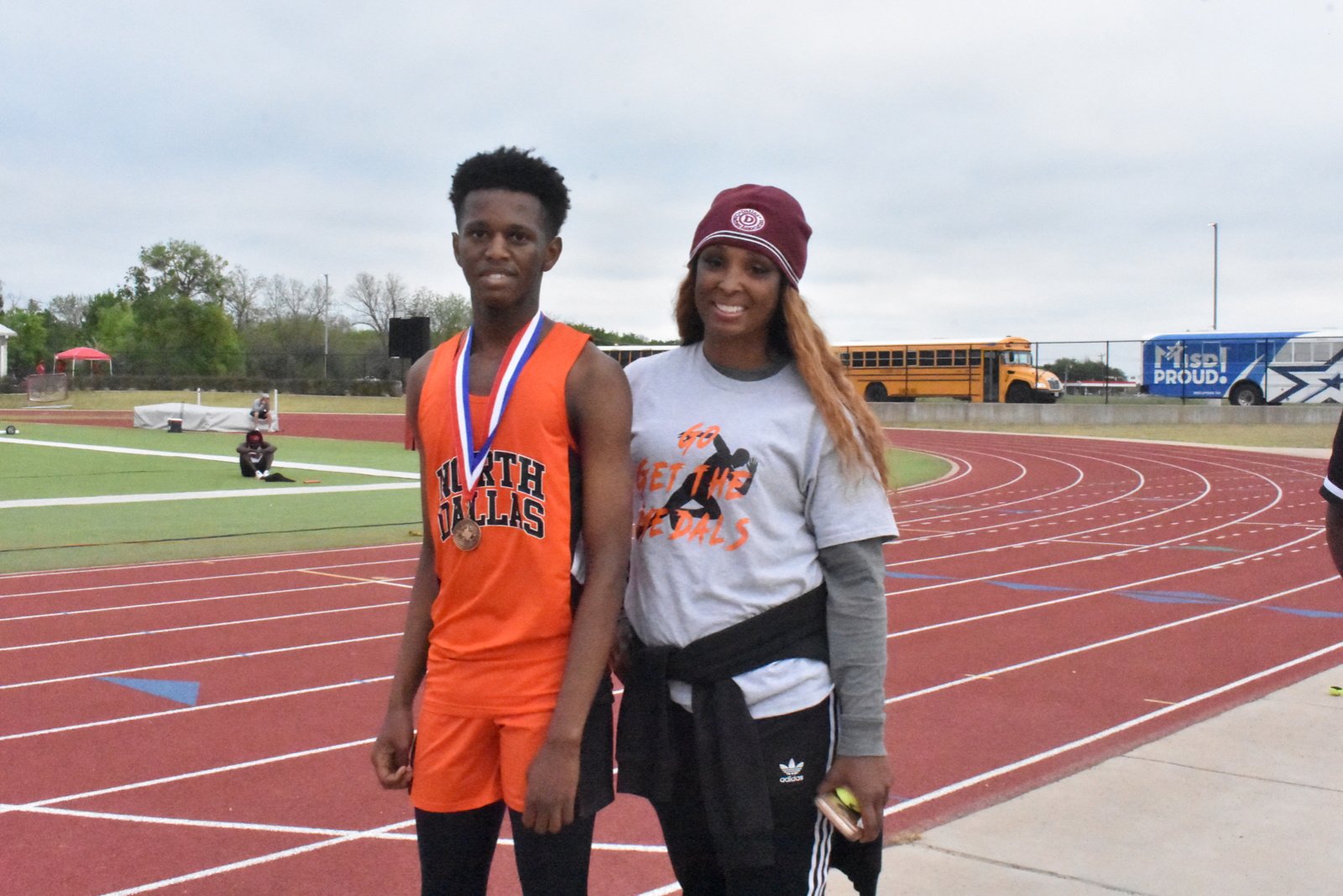 Photo gallery: North Dallas track team at Area meet — April 14, 2021