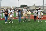 Watch: North Dallas recognizes the senior players in pre-game ceremony